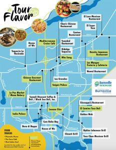 Download 2020 Tour De Flavor map