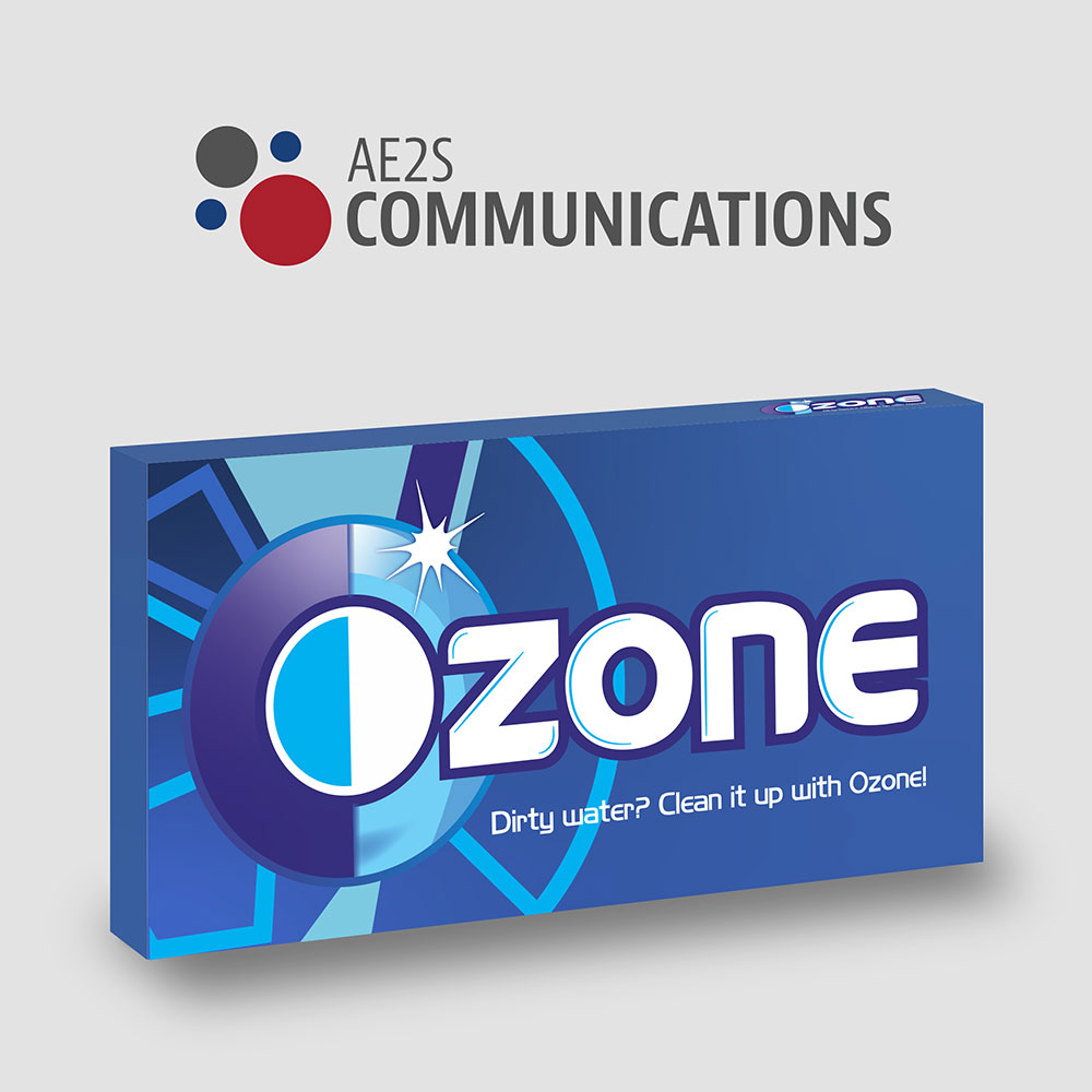 ozone logo on a gum package