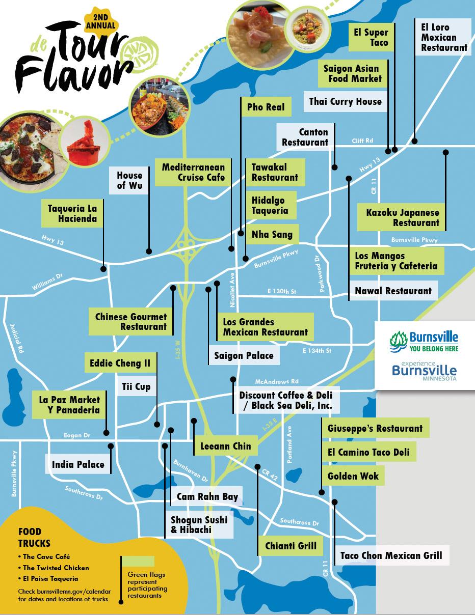 Burnsville Tour de Flavor 2021
